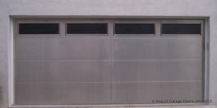 contemporary stainless steel garage doors | Contemporary Garage Doors Coto de Caza | Garage Door Repair California