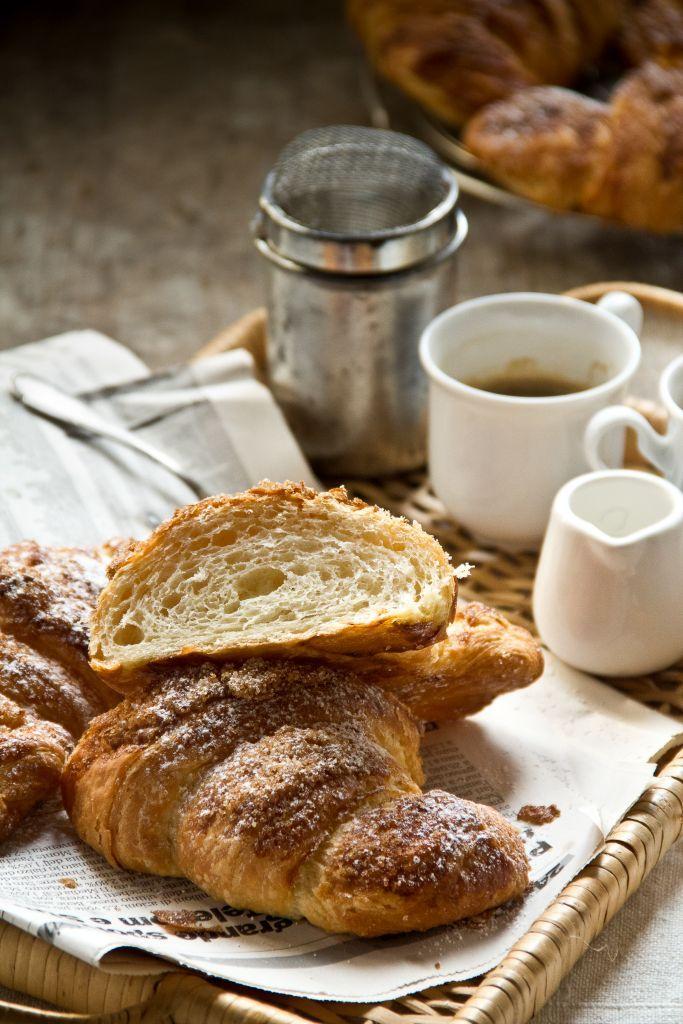 I miei primi croissants avena, kamut e mascobado.... che soddisfazione!