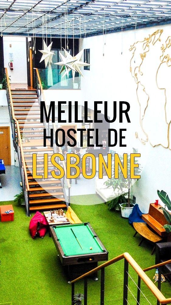 Nous avons trouvé le meilleur hostel de Lisbonne, viens on te fais une petite visite!
