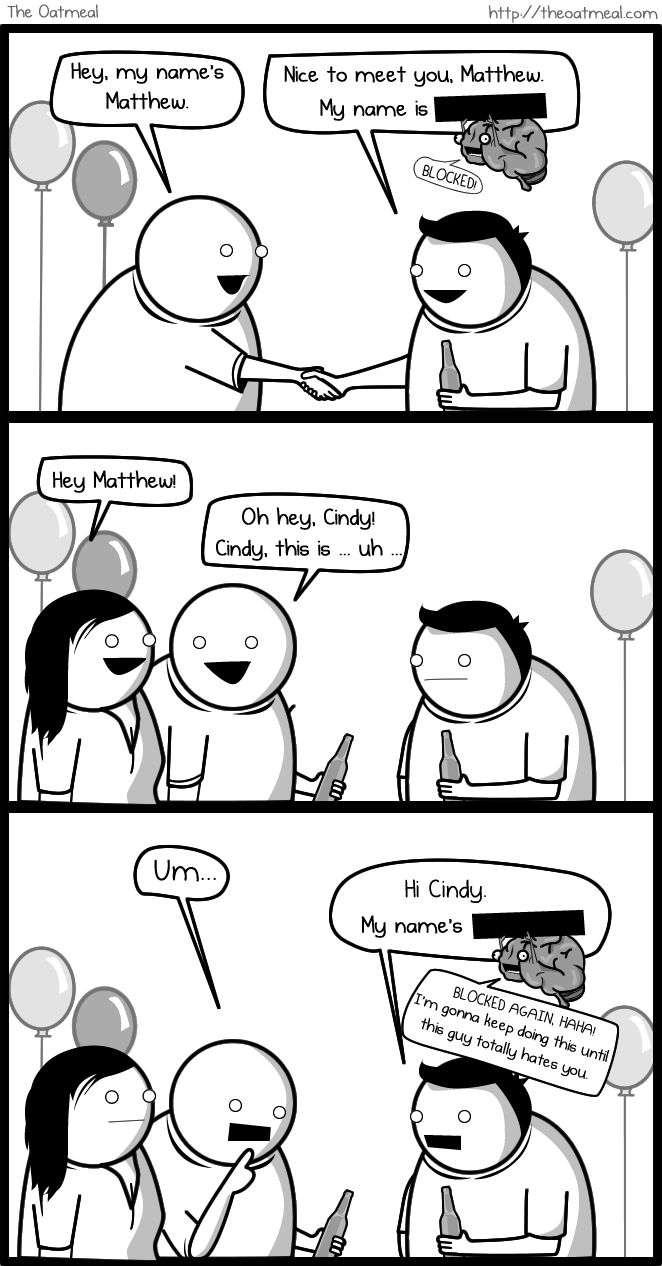 My Favorite The Oatmeal comic... If my brain was an imaginary friend.. - Imgur