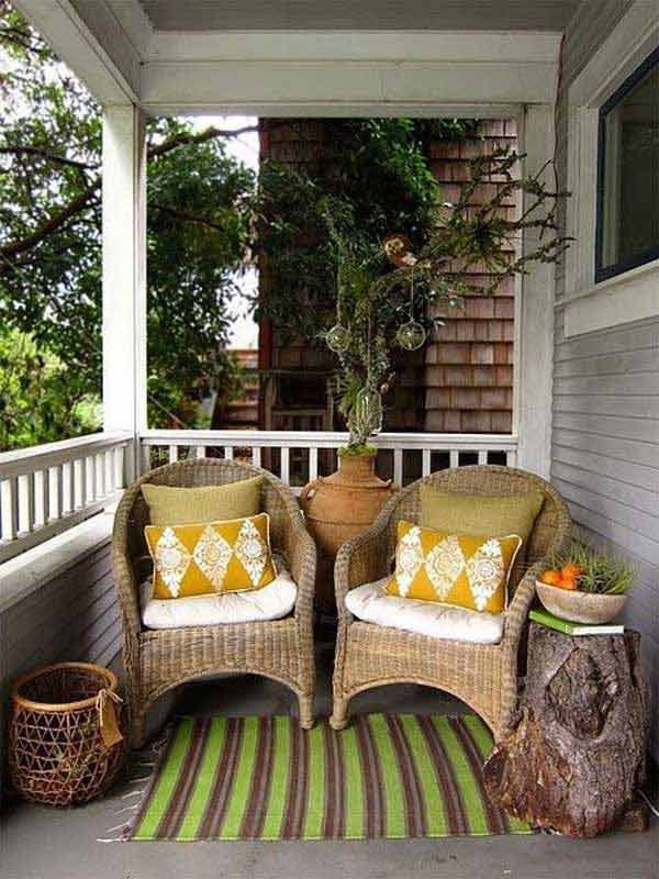 Best 25+ Small porches ideas on Pinterest | Patio decorating ideas ...