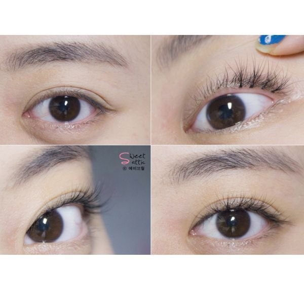 How To Apply Eyelash Clusters For A Natural Lool Www Piccassobeauty Net Professional Korean Eyelashes An Makeup Tutorial Eyeliner Korean Makeup Look Eyelashes