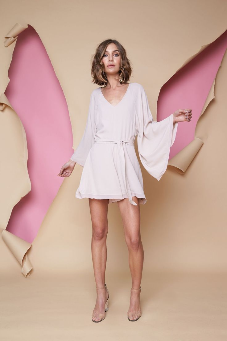 Pink Stitch - Crave You Playsuit