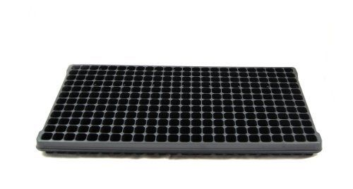 288 Plug Seed Trays for Seed Starting 10 Each by Growers Solution by Growers Solution. $20.95. Reusable for years.. Fits in standard 1020 Tray. Cell walls promote downward root growth.. Great for Starting Vegtable and Flower seeds.. Cell Dimensions: 1.50 Height/Depth x 0.76 Top. This is a great way to start a lot of seedlings in a small area.  Once seedlings germinate transplant to your larger pot prior to setting out in the field.   This way you will have a higher quality transp...