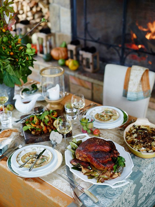 Beautiful Williams-Sonoma Thanksgiving Table.