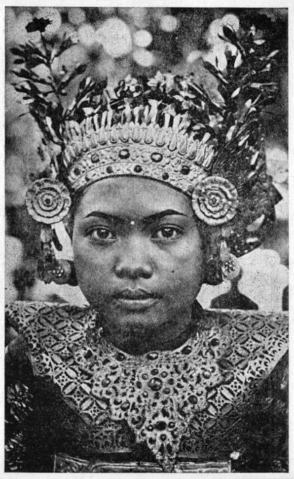 1930s Indonesia - Bali Legong Dancer
