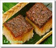 Bibingka Malagkit (sweet rice)