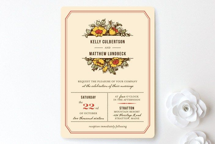 rustic-invitations-harvest floral