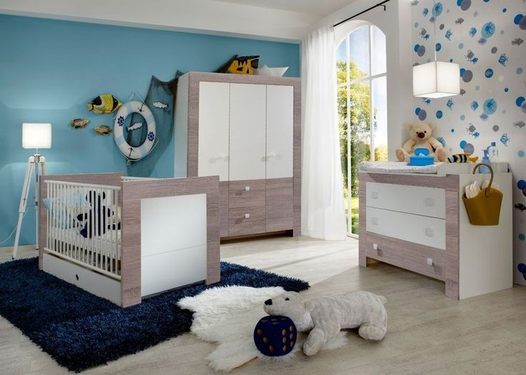 Elegant Babyzimmer komplett Alpinwei Eiche Montana Buy now at http