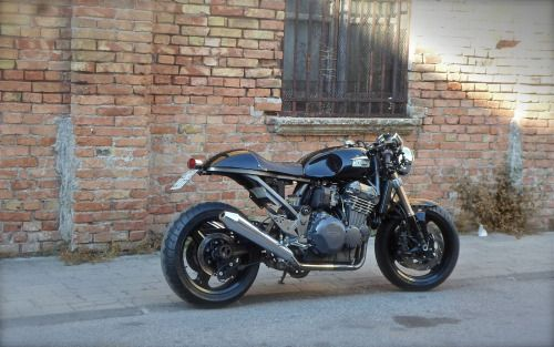 triumph trophy 900 cafe racer by antonio mazzeo motorcycles caferacer motos caferacerpasion. Black Bedroom Furniture Sets. Home Design Ideas