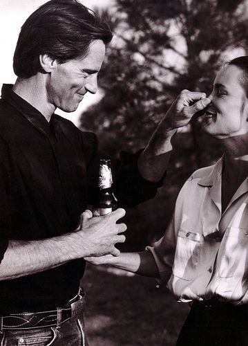 Sam Shepard & Jessica Lange Were together from 1983 til 2010, together had two children. He's hailed as one of Americas Great Playwrights & Actors & she is an Academy winning Actor.