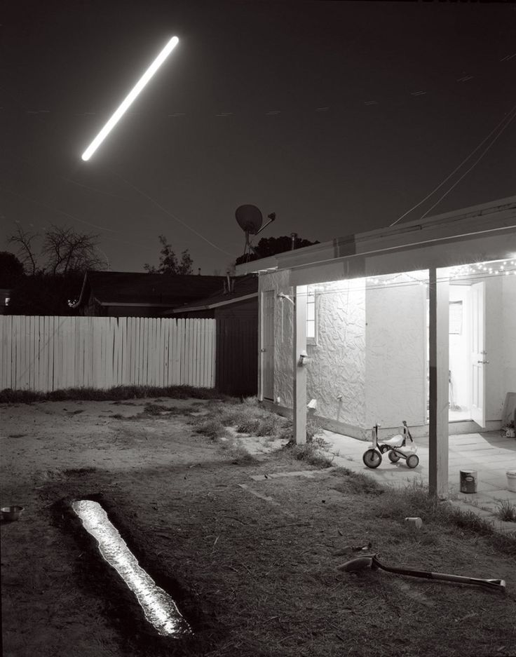 Reflection of the Rising Moon Over Our Home, Mesa, Arizona © David Shannon-Lier, 1st place, series, LensCulture Exposure Awards 2015. © David Shannon-Lier Of Heaven and Earth - Photographs by David Shannon-Lier   LensCulture