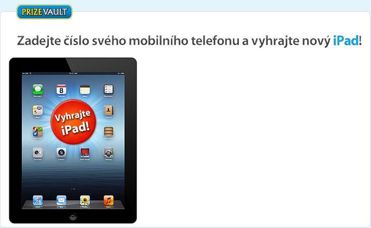 Zúcastnete se souteže a vyhrajte nový iPad!
