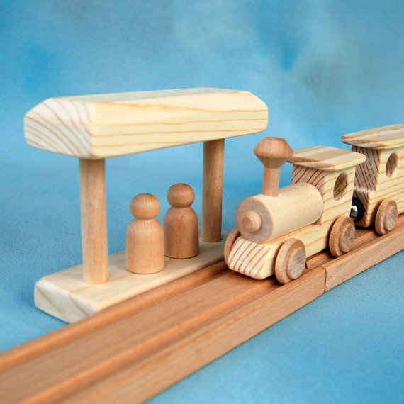 164 Best Wooden Toy Trains Images On Pinterest Wood Toys