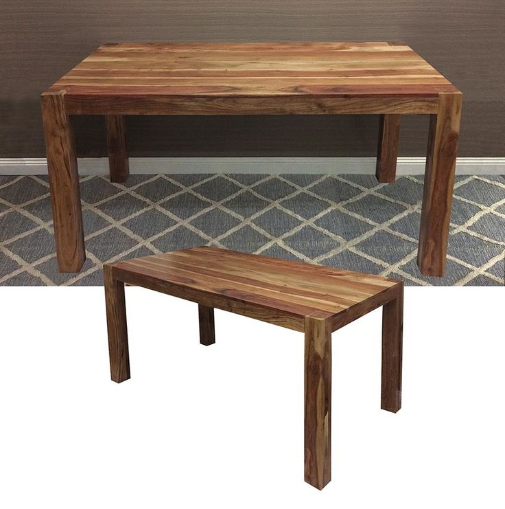 CONSTANTINE Hardwood Rectangular Dining Table 1450L X
