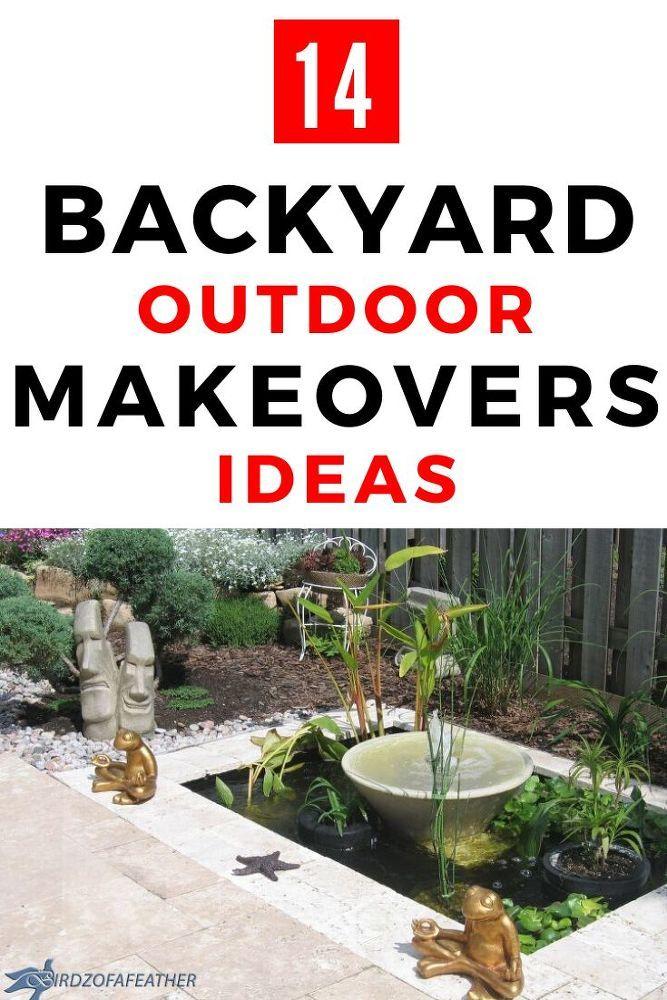 Makeover Diy Backyard Backyard Ideas On A Budget
