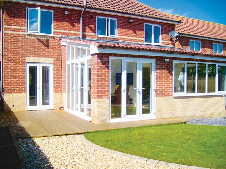 Perfect Rear Garden Room Extension