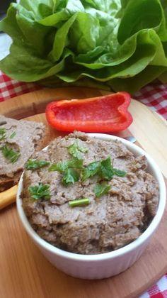Oryginalne kanapki - pasta gryczano - pieczarkowa | Zdrowe Przepisy Pauliny Styś