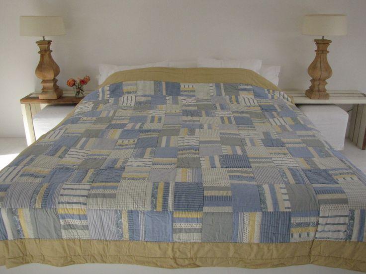 Handgemaakte quilt nummer 11 260 cm 260 cm - € 225,00 | VIA CANNELLA WOONWINKEL | CUIJK
