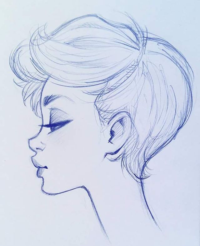#cameronmark #art #design #illustration #drawing #sketch #doodle #pixiecut