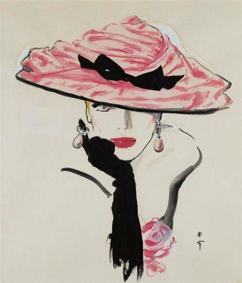 Bellezza da vendere : René Gruau -Quando la moda è arte