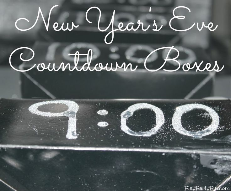 2013 New Year's Eve Party Games
