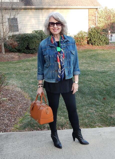 Fifty, not Frumpy: Distressed Clothing