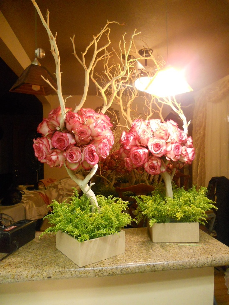 Quinceañera or Sweet 16 Centerpieces
