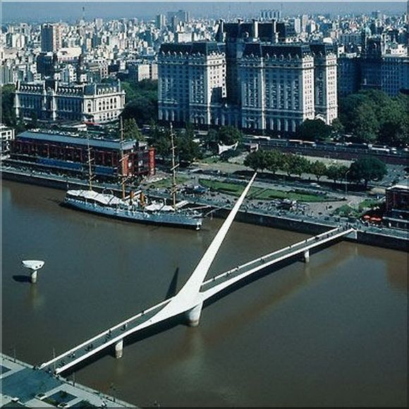 Puente de la Mujer, Argentina  pinned by www.ukgardening-directory.co.uk