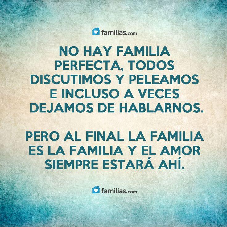 El amor de la familia siempre estará ahí para ti