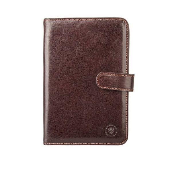 c2b2609563809 MAXWELL SCOTT BAGS Brown Leather Travel Document Folder Vieste.   maxwellscottbags  all
