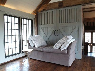 louvered topx bottom barn doors - Barn Doors For Homes