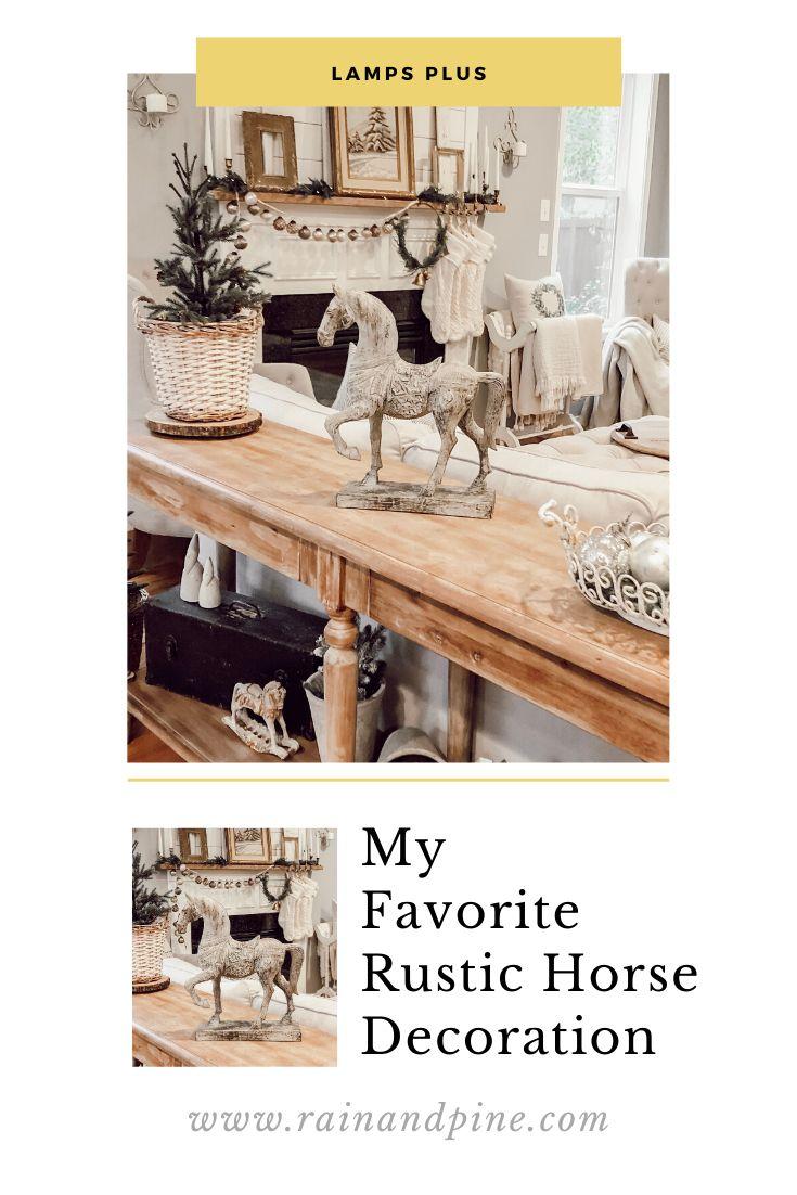 Rustic Horse 15 1 4 High Statue 8j476 Lamps Plus In 2021 Decor Essentials Home Decor Catalogs Americana Home Decor
