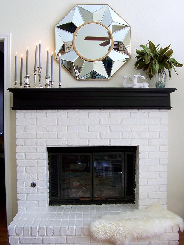 Black & white Mantel | Home & Garden Television