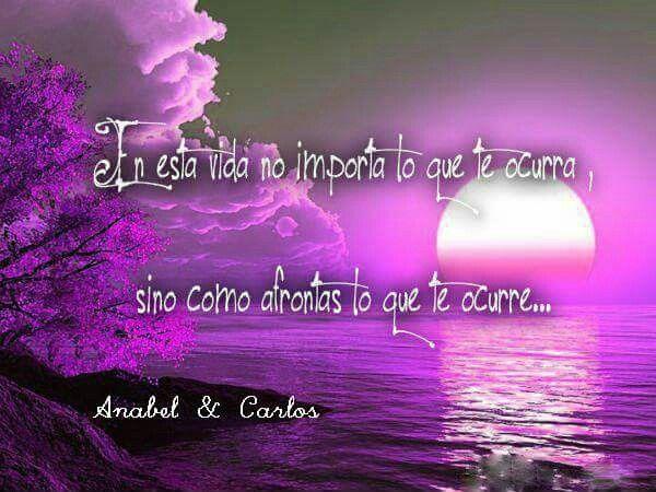 Todo tendrá la importancia que tu le quieras dar!!! #anabelycarlos #volveranacer