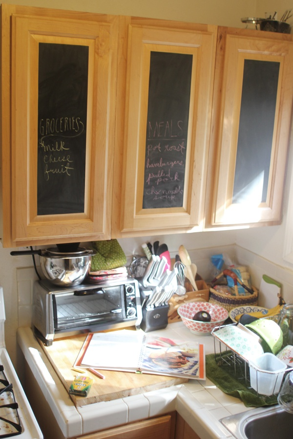 Planning To Buy Chalkboard Contact Paper And Cover One Or Two Of The Cabinets In The