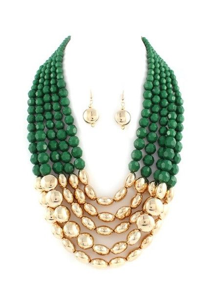 Mallory Beaded Necklace