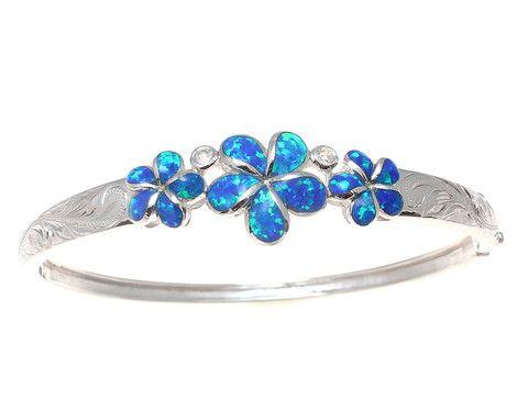 I LOVE this!!!!!  TM  925 Sterling Silver Hawaiian Jewelry - Bangles – Arthur's Jewelry