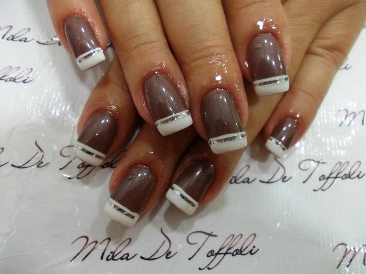 Pin by Hedwigs Baublry on Funky French Tip Nails | Pinterest | Nail nail and Nail stuff