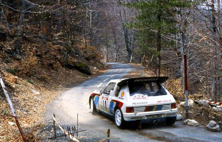 Michelle Mouton, Tour de Corse 1986