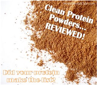 """Seriously helpful article! I chose """"Only Protein: Vanilla"""" He and She Eat Clean: Clean Protein Powders...REVIEWED!"""