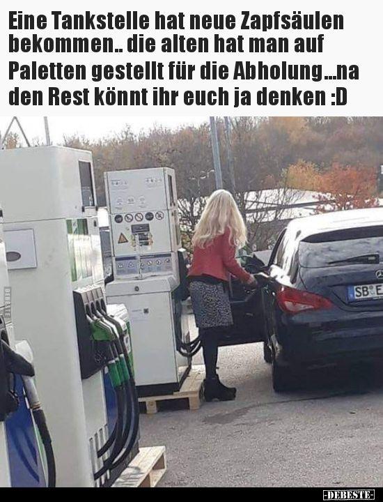 Tankstelle Lustig