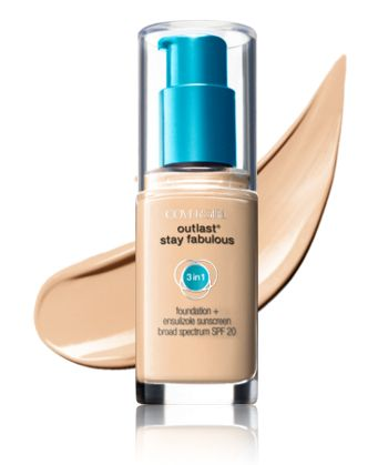 Covergirl Outlast Stay Fabulous 3 in 1 foundation - Warm Beige (845)