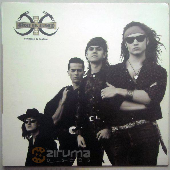 ONLY FOR EXHIBITION / SOLO PARA EXHIBICION: Héroes del Silencio - Senderos de Traición - LP - 1991 - Ven. Press - NM + INFO: info@zirumaradio.net