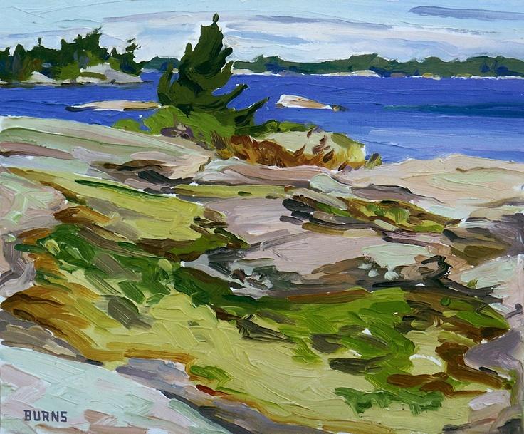 Georgian Bay  Keep in mind for rug hooking