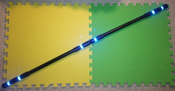 Nightwing/Robin Escrima Sticks/Staff Non by WebWorksCostumeProps