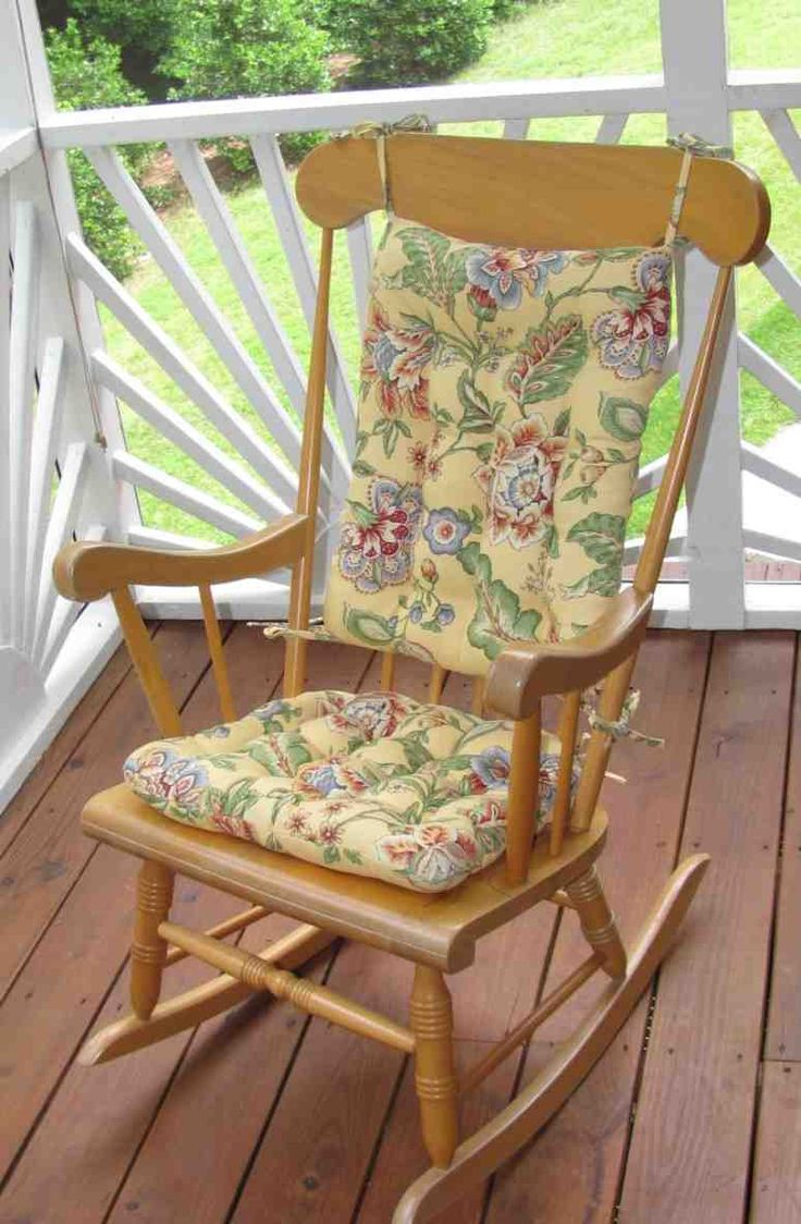48 best Rocking Chair Cushions images on Pinterest | Rocking chair ...