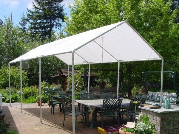 Brilliant Diy Tent Frame From Pvc Canopy Tent Outdoor