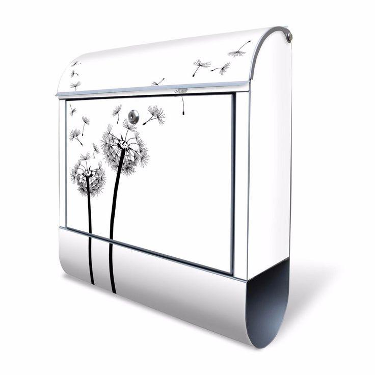Design Briefkasten Briefkästen Zeitungsfach Postkasten Motivbriefkasten Mailbox