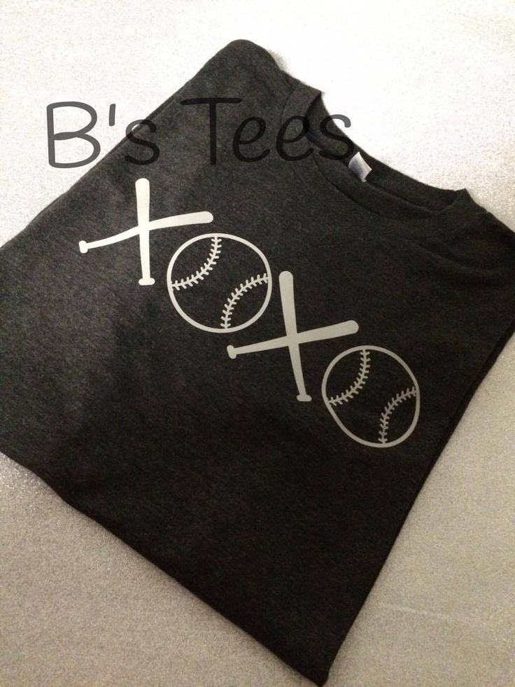 XOXO Baseball Tee, Baseball Shirt, Love Baseball, Womens, I Love Baseball,
